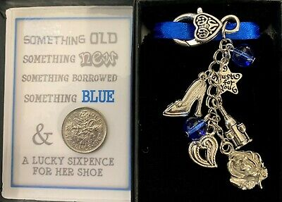 Bride To Be Keyring Keepsake Gift For Wedding With Lucky Sixpence + Message