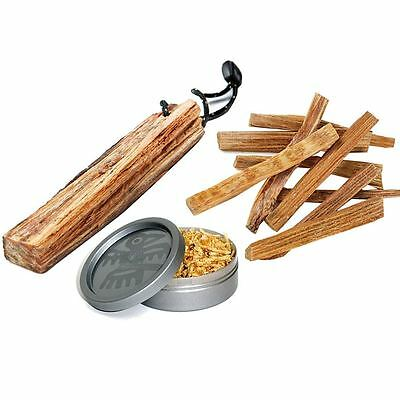 Light My Fire Fatwood Tinder Easy Fire Starter Sticks Dust Camping Outdoors