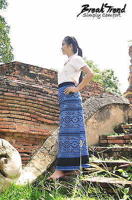 Sinh Salong aus Laos - Traditionelles Damen Kleid Tracht Kostüm Trachten 2401