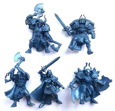 Undead Wariors 54 mm - 5 Figures NEW SOFT SERIES Tehnolog Russian Toy Soldiers