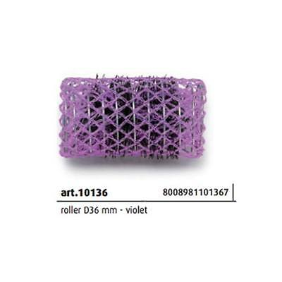 Bigodini scovolo in nylon D36mm Violet 12 pz