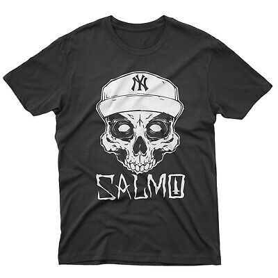 fm10 t-shirt uomo SALMO Gemitaiz Pequeno pop rap Machete MUSICA