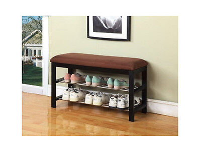 Outstanding Entryway Hallway Bench Storage Shoe Rack Seat Hall Entry Ncnpc Chair Design For Home Ncnpcorg