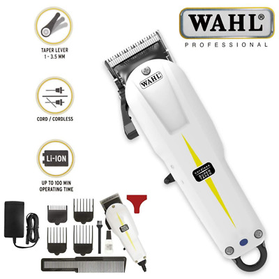 Tosatrice Wahl Super Taper Cordless Prolithium Series Professionale Con Kit