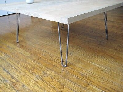 4 x Hairpin Table Legs, Coffee table,  - All Sizes From 4″  to 34″cm