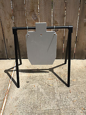 "Steel 20""x22"" Gong Shooting Target Stand  easy to assemble"
