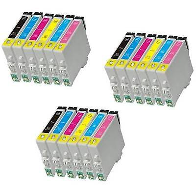 18 NON-OEM EPSON 78 INK FOR T078 ARTISAN 50 R260 R280 non-oem