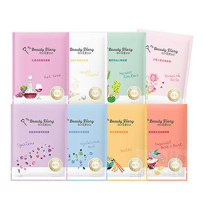 Buy 5 Get 1 Free [My Beauty Diary] Duo Serum Intensive Moist Facial Masks 1Pc