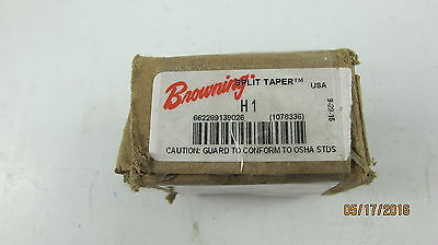 "New Browning H1 Split Taper Hub 1"" Bore Pulley Gear Adapter Free Shipping"