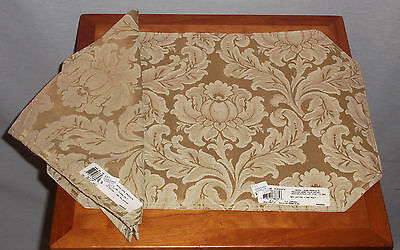 Elegant Artex Gold Set Of 12 Placemats With  Matching Napkins New With Tags
