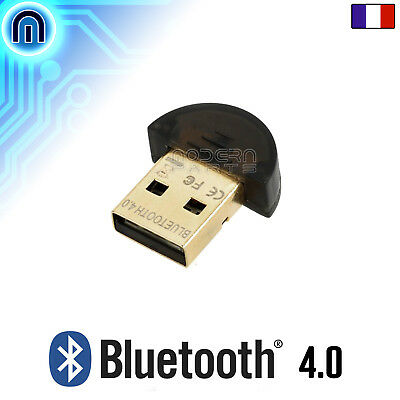 Mini Clé USB Bluetooth V4.0 (Dongle, Transmetteur Audio pour Casque, Enceinte)