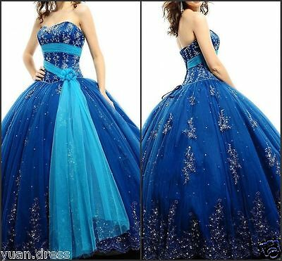 New Quinceanera Dresses Ball Gown For 15 Years Prom Party Dress Custom Made