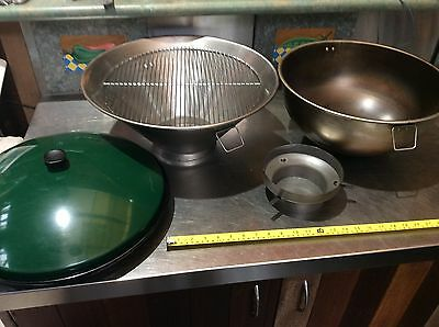 Very Cool Chimnea BBQ Wok Style Heavy Stainless Cooker Smoker Or Gas Heater Flue
