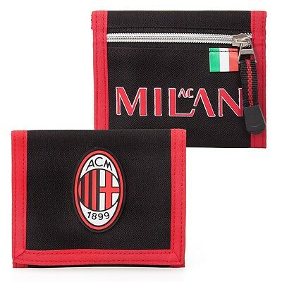 AC Milan Kids Boys Mens Wallet Football Coins Notes