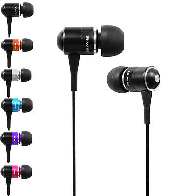Awei Q3 3.5MM In-Ear Headphone Earphone Super Bass Handfree Headset KY
