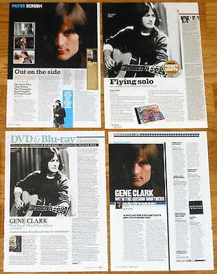 GENE CLARK UK clippings The Byrds magazine articles photos