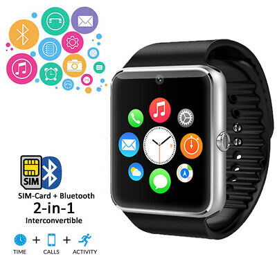 GT8 Stylish Bluetooth 3.0 Sync Smart Watch for iOS Android iPhone Samsung HTC LG