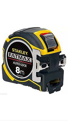 Stanley XTHT0-33501 Fatmax Autolock Tape Measure - 8m / 26' - Free Delivery