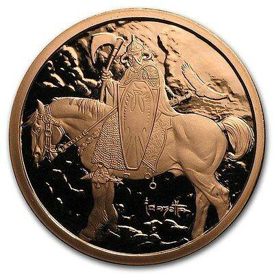 Death Dealer 1 oz .999 Copper BU Round USA Made American Bullion Coin - LIMITED!