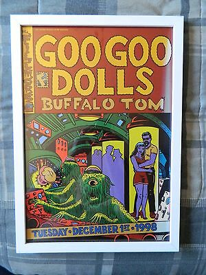 Bill Graham Original Fillmore Concert Poster Goo Goo Dolls 1998 F352 Buffalo Tom