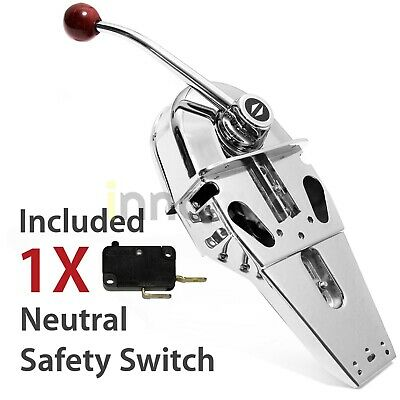 New Universal Top Mount Marine Jet Boat Single Lever Handle Engine Control Box