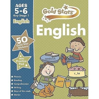Gold Stars English  5 - 6 Years -  School Workbook