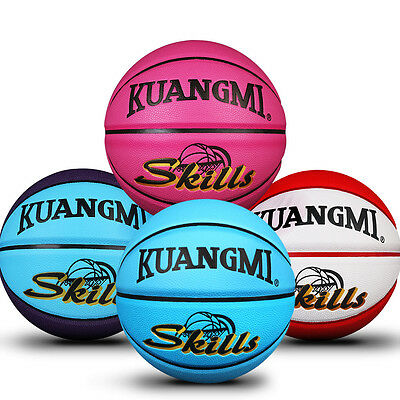 New Kuangmi Colorful Basketball Junior Kids Children Basket Ball Size 5