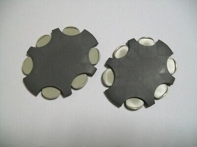 2 Packs ProWax Wax Guards Filters for Oticon and Bernafon Hearing Aids