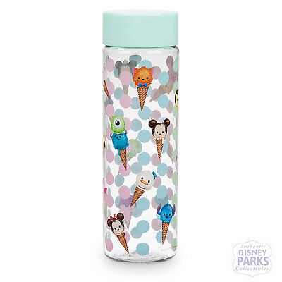 Authentic Disney Parks Collectibles  ''Tsum Tsum'' Water Bottle Cup Ice Cream