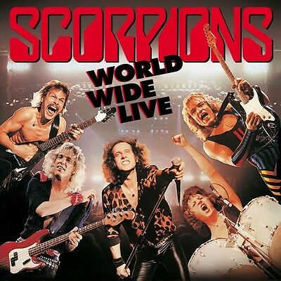 Scorpions-World Wide Live (50Th Anniversary Deluxe Edition)-Cd (2) Bmg Righ Neu