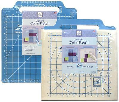 June Tailor-Quilter's Cut 'n Press rotary mat for patchwork etc 12 X 13 INCH