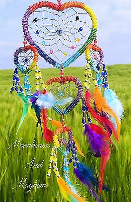 Delicious New Rainbow Dream Catcher Chimes Garden Hippie Boho Gypsy Dreamcatcher