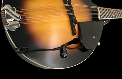 """""""The Feather"""" MANDOCELLO PICKUP with FLEXIBLE MICRO-GOOSE NECK by Myers Pickups"""