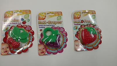 Razbaby Razberry Raz-Berry Silicone BPA-Free Baby Pacifier Teether Gum Soother