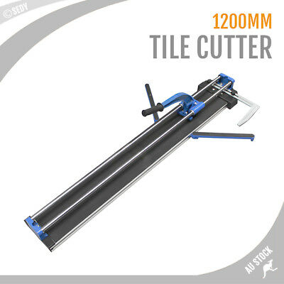 NEW Manual Tile Cutter 120cm Cutting Machine 1200mm Knife Adjustable Heavy Duty