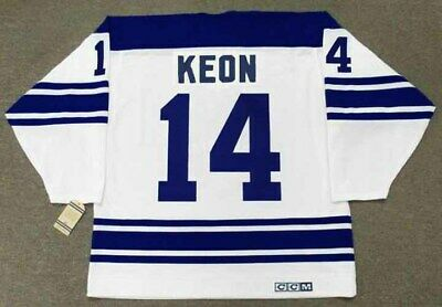 DAVE KEON Toronto Maple Leafs 1967 CCM Vintage Away NHL Hockey Jersey
