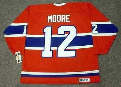86fa8971290 DICKIE MOORE Montreal Canadiens 1959 CCM Vintage Throwback NHL Hockey Jersey