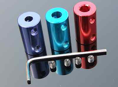 New 10pc Color aluminum alloy coupling  Motor coupling parts  14*25mm