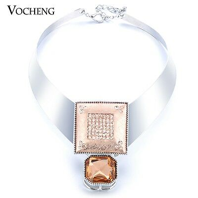 10pcs/lot Vocheng Crystal Collares Vintage Necklace for Women Vf-212*10