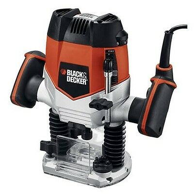 Black and Decker Plunge Router Variable Speed Wood Routers Woodworking Tool NEW