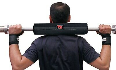 "16"" Barbell Weight Lifting Bar Pad Gym Training Support Protection Pads Hg-609"