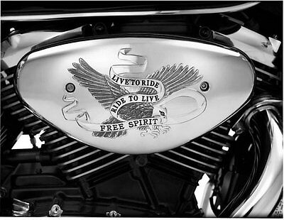 Show Chrome Air Cleaner Cover Free Spirit Kawasaki VN2000E VN2000A VN2000F LT