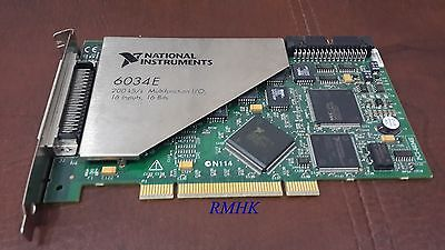 National Instruments NI 16 Channel PCI-232