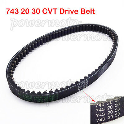743 20 30 CVT Drive Belt For GY6 125 150cc 157QMJ Moped Scooter ATV Quad Go Kart