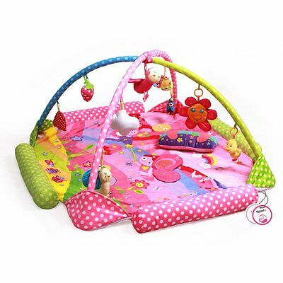 Baby Newborn Soft Play Mat Toy Bee Themes Activity Baby Gym Educational Toys