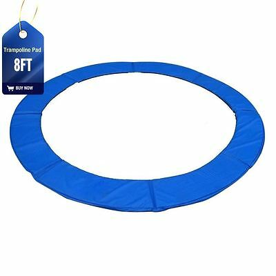 New 8Ft Replacement Pvc Trampoline Safety Spring Cover Padding Pad Mat