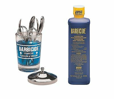 Barbicide Désinfectant antirouille Formule Solution (473ml) & Manucure Table Pot