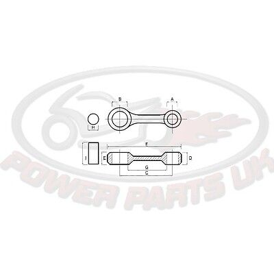 CON ROD Connecting rod KIT PROX For Yamaha WR 450 F