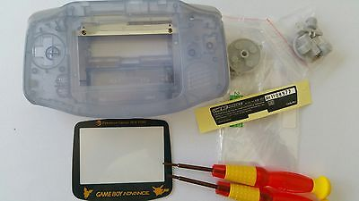 Es- Phonecaseonline Carcasa Gameboy Advance Pikachu Clear Blue Nueva