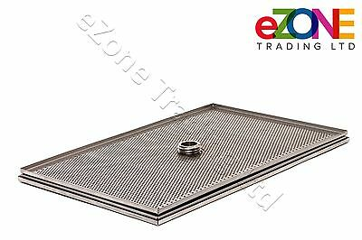 3 Pieces Oil Filter Screen Mesh Assembly for HENNY PENNY Chicken Pressure Fryer